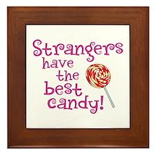 Strangers Candy - Framed Tile