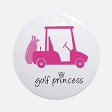 Golf Princess - Ornament (Round)