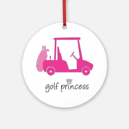 Golf Princess - Ornament (Round)
