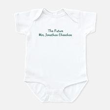 The Future Mrs. Jonathan Che Infant Bodysuit
