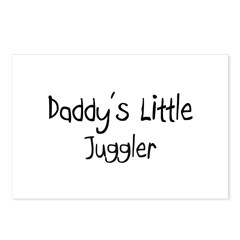 Daddy's Little Juggler Postcards (Package of 8)