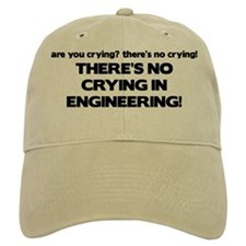 There's No Crying Engineering Baseball Cap