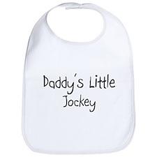 Daddy's Little Jockey Bib