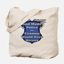 God Made Police 2 Tote Bag
