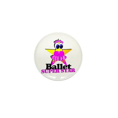 Ballet Star Mini Button (100 pack)