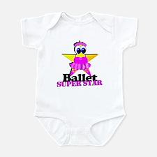 Ballet Super Star Infant Bodysuit