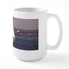 Sailing around Portland Harbor Mug