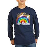 GOD RAINBOW SEX Long Sleeve Dark T-Shirt