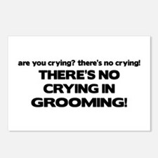 There's No Crying Grooming Postcards (Package of 8