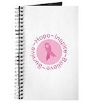 Pink Ribbon -Circle II Journal