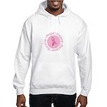 Pink Ribbon -Circle II Hooded Sweatshirt