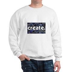 Create - Mosaic Tile Sweatshirt