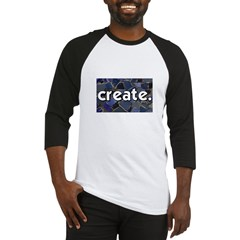 Create - Mosaic Tile Baseball Jersey