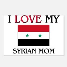 I Love My Syrian Mom Postcards (Package of 8)
