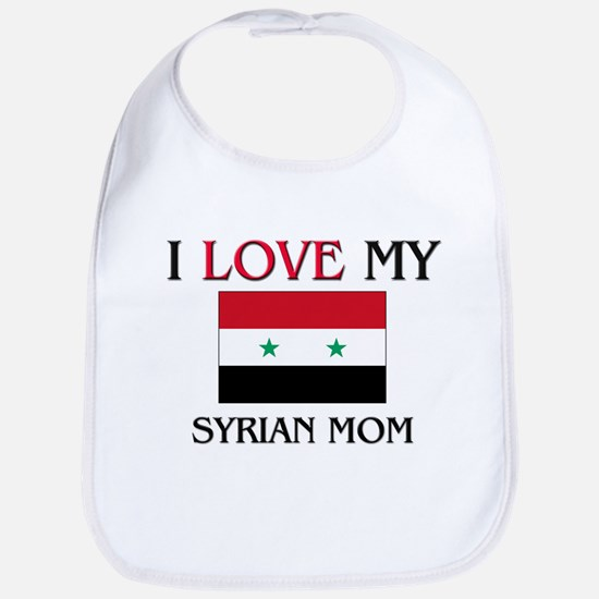 I Love My Syrian Mom Bib