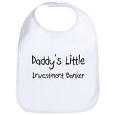 Daddy's Little Investment Banker Bib