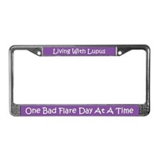 Lupus License Plate Frame