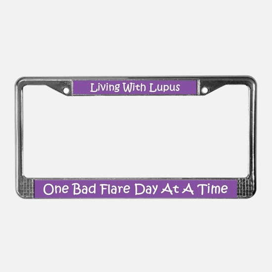 Lupus License Plate Frame