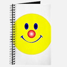Unique Smiling face Journal