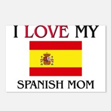 I Love My Spanish Mom Postcards (Package of 8)