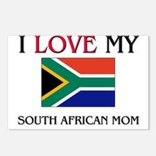 I Love My South African Mom Postcards (Package of