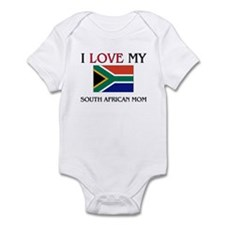 I Love My South African Mom Infant Bodysuit