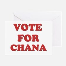 Vote for CHANA Greeting Card