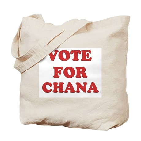 Vote for CHANA Tote Bag
