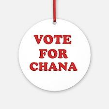 Vote for CHANA Ornament (Round)