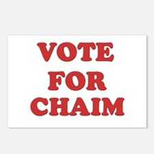 Vote for CHAIM Postcards (Package of 8)