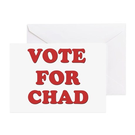 Vote for CHAD Greeting Cards (Pk of 10)