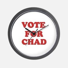 Vote for CHAD Wall Clock