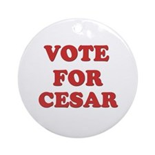 Vote for CESAR Ornament (Round)