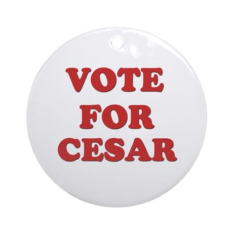 Vote for CESAR Ornament (Round)