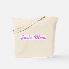 Sue Mom (pink) Tote Bag