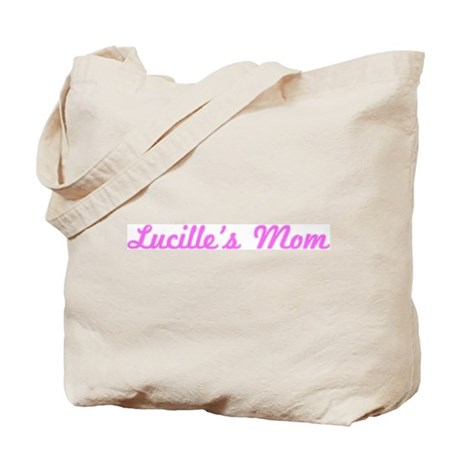 Lucille Mom (pink) Tote Bag