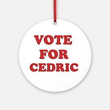 Vote for CEDRIC Ornament (Round)