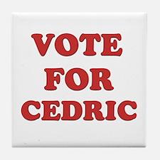 Vote for CEDRIC Tile Coaster