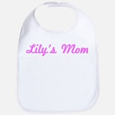 Lily Mom (pink) Bib