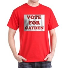 Vote for CAYDEN T-Shirt