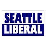 Seattle Liberal (bumper sticker)