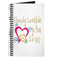 Lovable 90th Journal