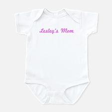 Lesley Mom (pink) Infant Bodysuit