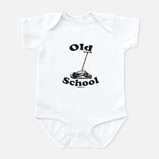 Push Mower (Old School) Infant Bodysuit