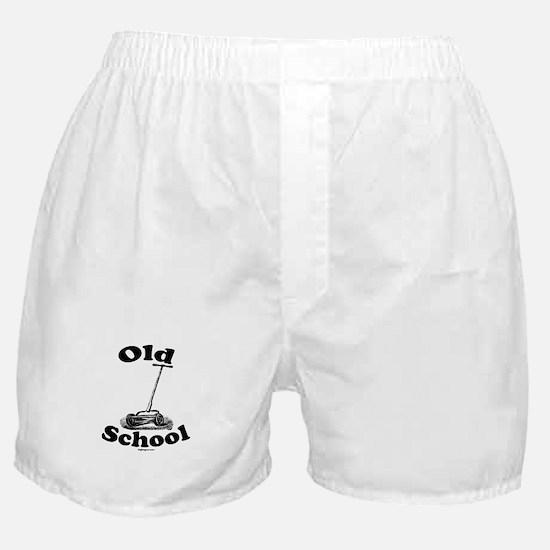 Push Mower (Old School) Boxer Shorts