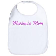 Marina Mom (pink) Bib