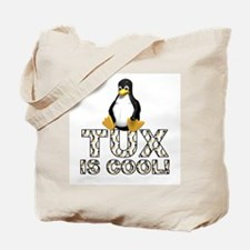 Tux Is Cool! Tote Bag