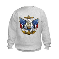 Naval Anchor Tattoo Sweatshirt