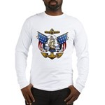 Naval Anchor Tattoo Long Sleeve T-Shirt