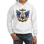 Naval Anchor Tattoo Hooded Sweatshirt